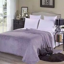 Новый шикарный мягкий теплый сплошной теплый микро плюшевый флисовое одеяло-покрывало ковер диван постельное белье