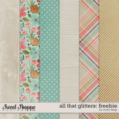 Quality DigiScrap Freebies: All That Glitters paper pack freebie from Studio Flergs Free Scrapbook Paper, Digital Scrapbooking Freebies, Digital Paper Free, Free Paper, Digital Papers, Free Graphics, Graphics Vintage, Vintage Logos, Retro Logos