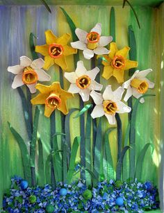 Rosi Jo': Come realizzare fiori con le scatole delle uova