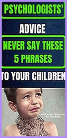 Psychologists Warn: NEVER Use These 5 Phrases When Talking To Your Chil - Health Specialized Holistic Remedies, Holistic Healing, Natural Healing, Health Remedies, Natural Remedies, Health Guru, Gut Health, Health And Nutrition, Health Fitness