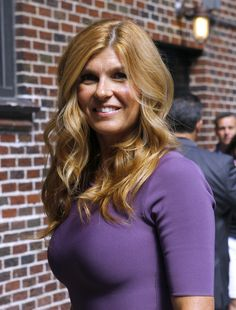 Connie Britton - and your hair is the best hair.