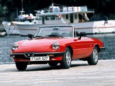 Alfa Romeo Spider (1986 – 1990).