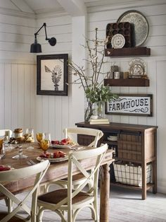Franklin side chairs complement every kitchen and dining room from country to coastal. #lowes #farmhouse
