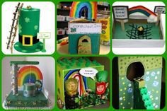 Cute ideas for making a Leprechaun trap. I really want to catch one this year.