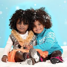 Oh my gosh! Can these little girls be any cuter?!!