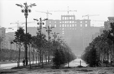 Photographer Andrei Pandele captured a dramatic period of change for Romania under communist dictator Nicolae Ceausescu. For many, his pictures are now a painful reminder of what they lost. Top 15, Bucharest Romania, Lost City, Great Photographers, Under Construction, Art Photography, Past, Nostalgia, Country