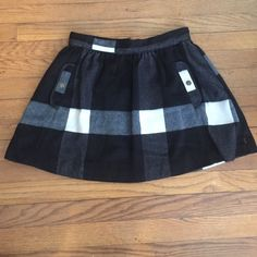 Free People Buffalo Plaid skirt Free People skater skirt Free People Skirts Circle & Skater