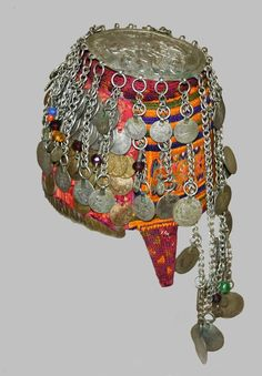 Traditional headdress from Palestine