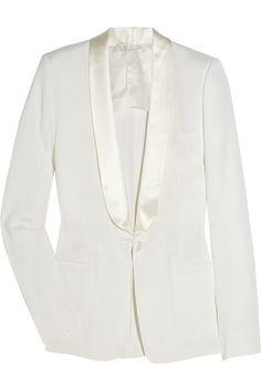 Maison Martin Margiela Wool-blend tuxedo jacket NET-A-PORTER.COM  Was $1,785 Now $892.50