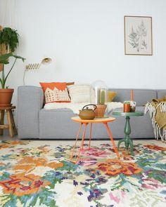 livingroom rozenkelim colors zuiver @thuisbylaura