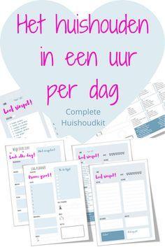 Het huishouden in een uur per dag - complete huishoudkit (1)