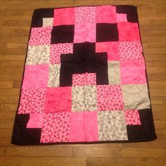A personal favorite from my Etsy shop https://www.etsy.com/listing/274492372/minecraft-quilt-throw-quilt-modern-quilt