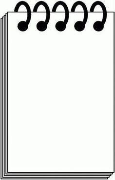 notepad page border Page Borders Design, Border Design, Borders For Paper, Borders And Frames, School Frame, Writing Paper, Note Paper, Paper Background, Clipart