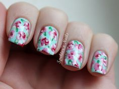 Pretty Flower Nail Art Designs - Perfect for Spring and Easter!