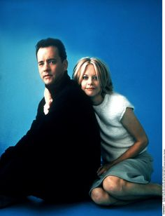 Tom Hanks + Meg Ryan. favorite onscreen couple. hands. down.