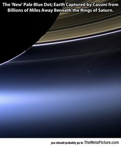 Pale Blue Dot - The Meta Picture