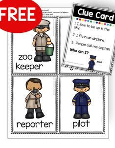 FREE writing ideas and social studies activities for kindergarten FREE community helpers activities printables unit kindergarten pre-k first grade ideas posters firefighters police officers my communi Community Helpers Kindergarten, Community Helpers Activities, Kindergarten Social Studies, Social Studies Activities, Kindergarten Lesson Plans, Teaching Social Studies, Kindergarten Activities, Kindergarten Posters, Space Activities