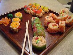DIY Candy Sushi - Ma