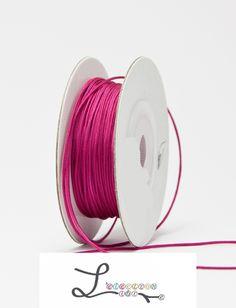 lacet nylon framboise 0.5mm