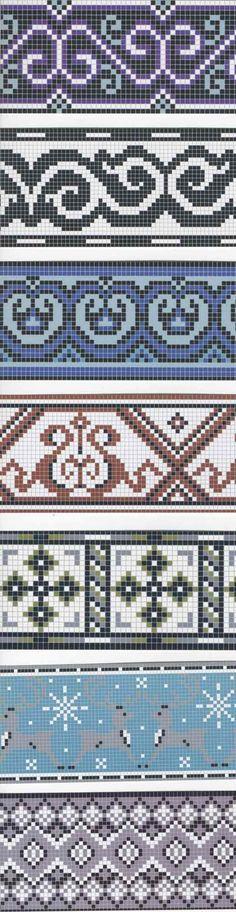 ...сначала придется подогнать под нужную вам технику и тип украшения. в нашей галерее есть схемы с як. узорами.