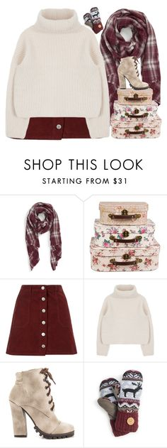 """""""Just a thought."""" by chalsouv ❤ liked on Polyvore featuring Sole Society, Miss Selfridge, Michael Antonio and Muk Luks"""