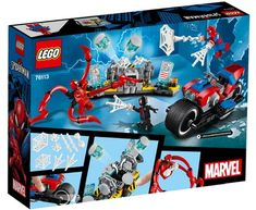 It's the start of a new month and LEGO have released some new Marvel sets based on Spider-Man, which isn't an official tie-in with the new [. Lego Spiderman, Lego Marvel, Marvel Fan, Superman, Superhero, Amazing Spiderman, Marvel Comics, Toy Cars For Kids, Lego For Kids