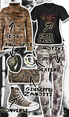 Look camouflage: 1 Stile (MIMETICO), 1 capo iconico (I PANTALONI A STAMPE MIMETICHE), 4 Declinazioni (come e con che cosa indossarli) - Segui i consigli #moda Melarossa!