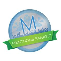 Mathletics Printables - Fractions Fanatic Badge Fractions, Badge, Classroom, Printables, Badges, Print Templates, Printable Templates