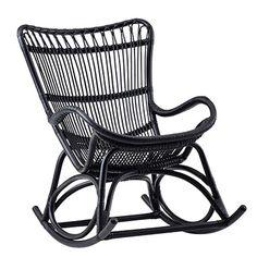 Sika Design Monet Rocking Chair   Black. Rocking ChairsLounge ChairsRattan  ... Amazing Ideas