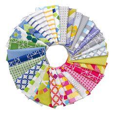 Quilt Blocks by Ellen Luckett Baker for Moda Fabrics