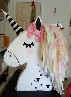 Hey, I found this really awesome Etsy listing at https://www.etsy.com/listing/615041943/unicornpony-pinata-style-2