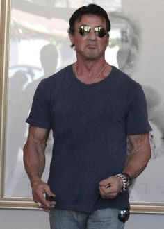 Sylvester Stallone Workout | Sylvester Stallone Arms