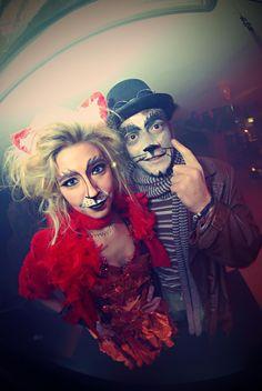 Ali&Canne alias IlGattoeLaVolpe | Carnevale'12 | Erbamatta l'Ab