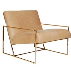 Dering Hall - Buy Thin Frame Lounge Chair - Lounge Chairs - Seating - Furniture