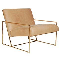 Thin Frame Lounge Chair - Lawson-Fening