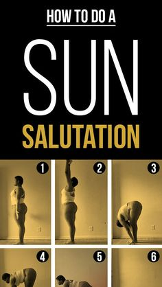 I love this especially since she isn't like 12 lbs. Here's How To Actually Do A Sun Salutation