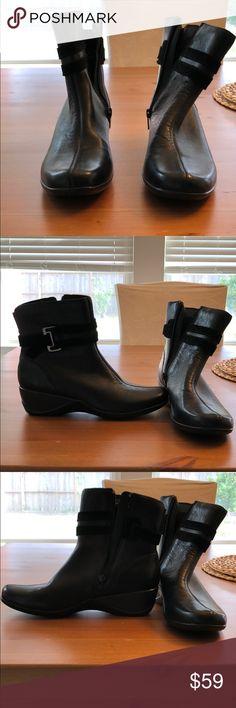 19bc0f6b2df0b Dark brown Clark ankle boots Dark brown Clarks ankle boots. This brand is  known for