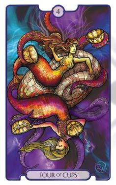 Revelations Tarot Four of Cups - Pesquisa do Google
