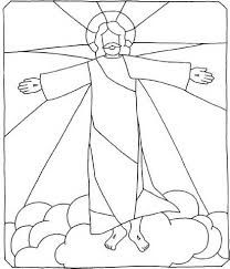 Ascension Of Jesus Christ Coloring Pages 16