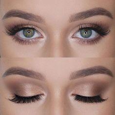 #Maquillaje de #Ojos con apariencia #Natural #Eyes #Makeup #Mua