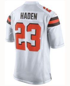 Nike Men s Joe Haden Cleveland Browns Limited Jersey - White XL Myles  Garrett b5ef42e34