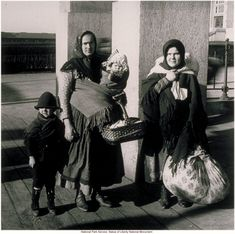 "IMMIGRANTS: ""Slavs"" at Ellis Island - portrait. The Eugenics Society considered people of eastern Europe a lesser part of the human family."