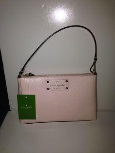 Kate Spade New York Wellesley Linet Clutch, Balletslip /Pink Wristlet Bag  $135 #katespade #Clutch