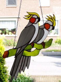 Afbeeldingsresultaat voor tiffany vogels