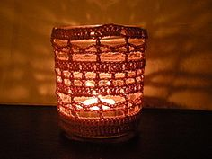 candle votive cover