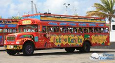 Tour Bus in Aruba, February 2014