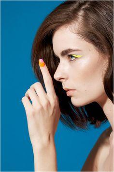 Tastefully Vibrant Beauty Photography #eyeliner #makeup