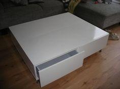 mooie witte salontafels met lades