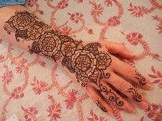 Hand & Arm Floral Henna