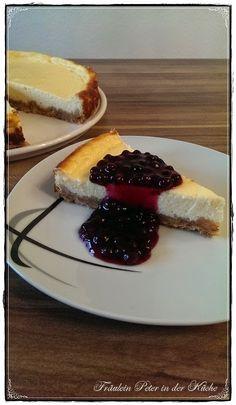 Fräulein Peter in der Küche: American Cheesecake mit Heidelbeeren